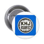 KHJ Rules Pinback Buttons
