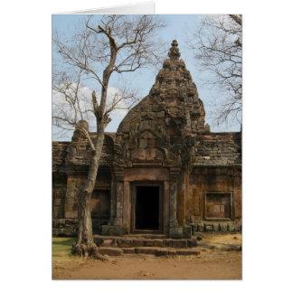 Khmer Castle ... Buriram, Isaan, Thailand Card