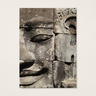 Khmer Stone Face ... Bayon Temple, Cambodia Business Card
