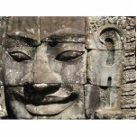 Khmer Stone Face ... Bayon Temple, Cambodia Acrylic Cut Outs