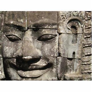 Khmer Stone Face ... Bayon Temple, Cambodia Statuette