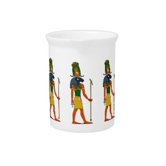 Khnum, Ancient Egyptian God Drink Pitcher