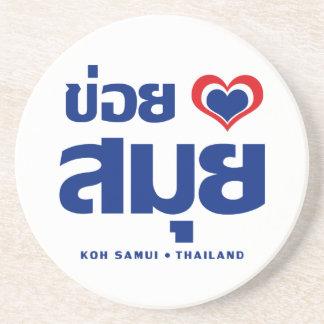 Khoi Huk (I Heart / Love) Koh Samui ❤ Thailand Coaster