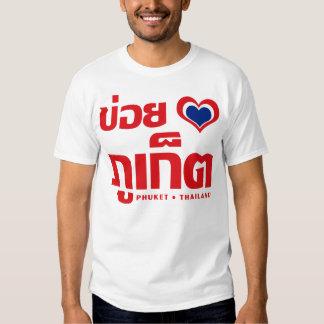 Khoi Huk (I Heart / Love) Phuket ❤ Thailand Tee Shirt