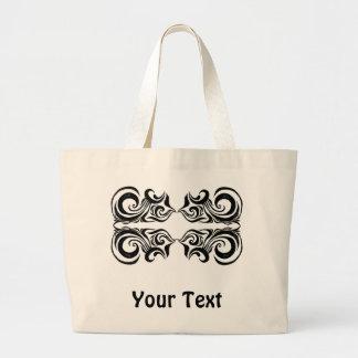 Khokhloma Exotique Jumbo Tote Bag
