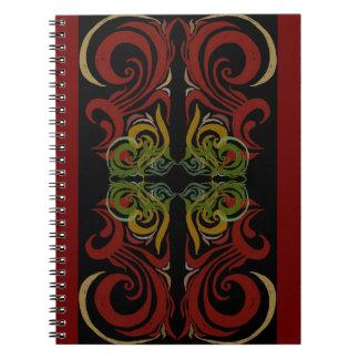 Khokhloma Exotique Notebook