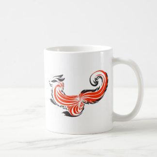 Khokhloma Fox. Coffee Mug