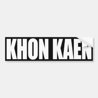 Khon Kaen Pegatina Para Auto