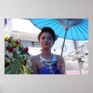 Khon Kaen Silk Festival Beauty Poster