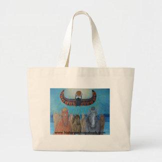 Khonsu y re ventaja los caballos del rey bolsa tela grande