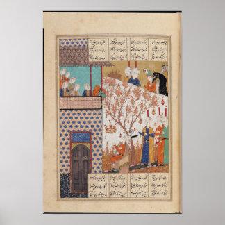 Khosro antes del palacio de Shirin Impresiones