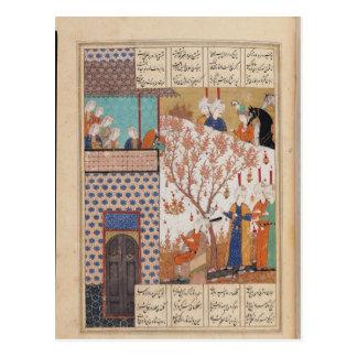 Khosro antes del palacio de Shirin Postal
