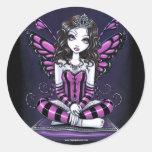 """Khristyn"" Pink Princess Fairy Art Stickers"