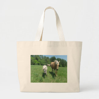 Khrysta, the Morgan horse, and Cash, the mini hors Bags