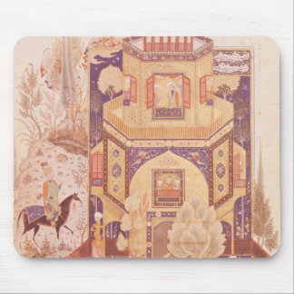 Khusrau in front of the Palace of Shirin Mouse Pad