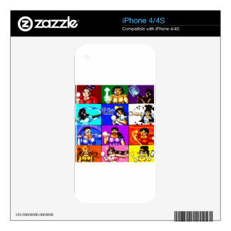 Ki-Chan: Demon Hunter Block Decals For The iPhone 4S