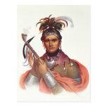 """Ki-En-Twog-KY o """"Complanter"""", un jefe del Seneca Postal"""