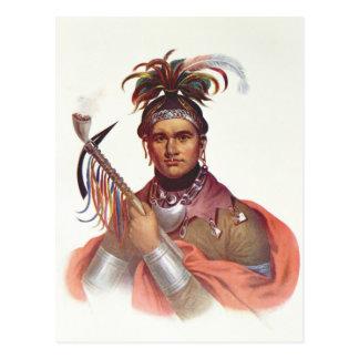 "Ki-En-Twog-KY o ""Complanter"", un jefe del Seneca Tarjetas Postales"
