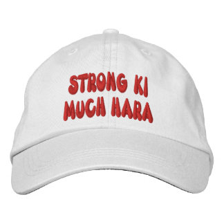 Ki fuerte mucho casquillo de Hara Gorras Bordadas