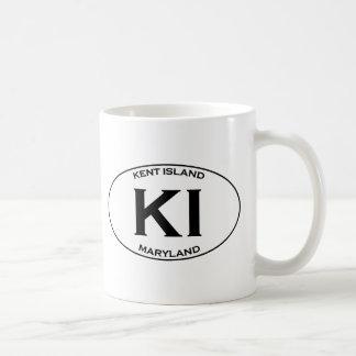 KI - Isla Maryland de Kent Taza De Café