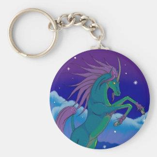ki-lyn basic round button keychain
