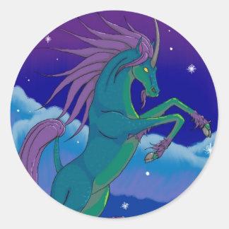 ki-lyn classic round sticker