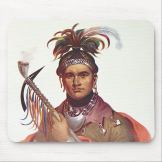 Ki-On-Twog-Ky or 'Complanter', a Seneca Chief Mouse Pad