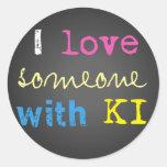 KI support stickers