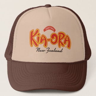 Kia Ora New Zealand cap