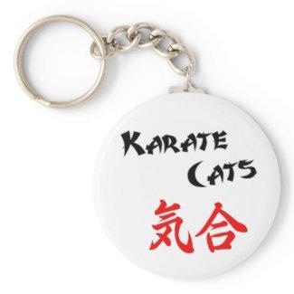 ...KiAi! Basic Round Button Keychain