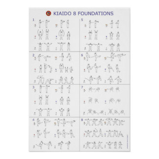 Kiaido International - Song Park's 8 Foundations Posters