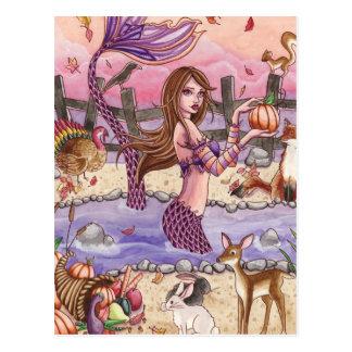 Kiandra - postal de la sirena de la acción de grac
