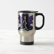 kiara, fairy, faery, faerie, fae, butterfly, tribal, fusion, purple, princess, fantasy, art, myka, jelina, mika, faeries, Mug with custom graphic design