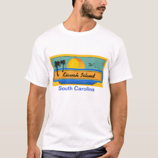 Kiawah Island Beach Scene T-Shirt