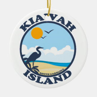 Kiawah Island. Ceramic Ornament