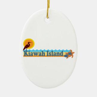 Kiawah Island. Ceramic Ornament