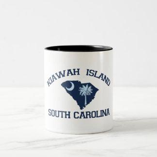 Kiawah Island. Two-Tone Coffee Mug
