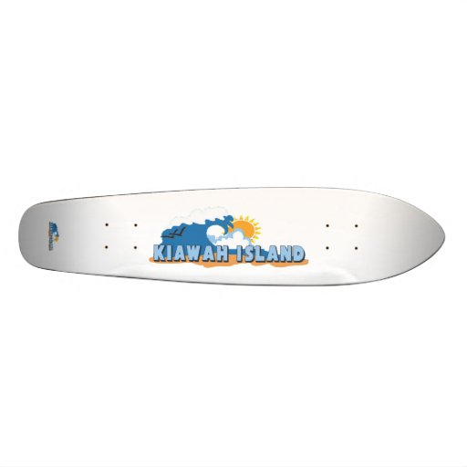 Kiawah Island. Skate Board Deck