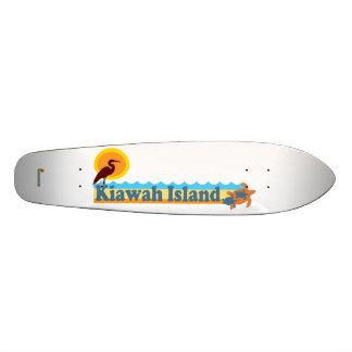 Kiawah Island. Skateboard Deck