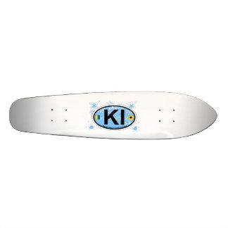 Kiawah Island. Skateboard
