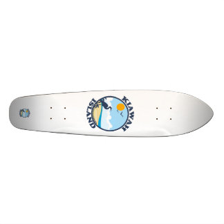 Kiawah Island. Custom Skate Board