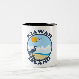 Kiawah Island. Taza Dos Tonos