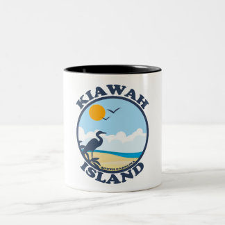 Kiawah Island. Taza De Dos Tonos