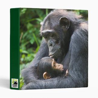 Kibale Chimpanzee 3-ring binder