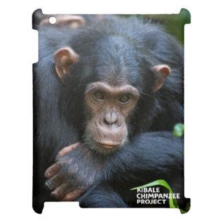 Kibale chimpanzee iPad cover