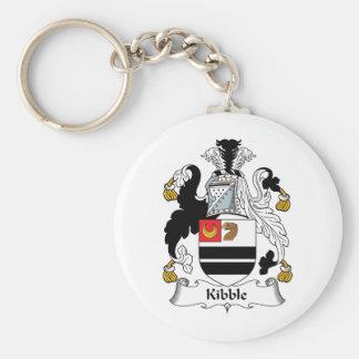Kibble Family Crest Basic Round Button Keychain
