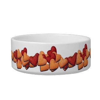 Kibbles and Hearts Bowl