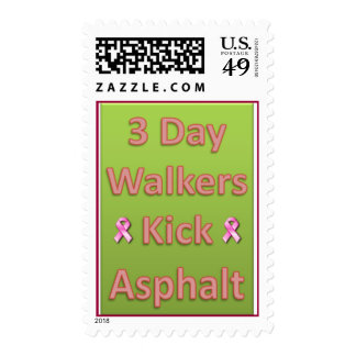 Kick Asphalt - Postage Stamp