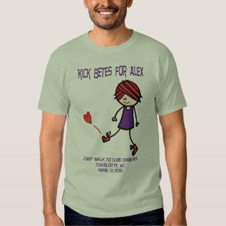 Kick Betes for Alex - Mens T-Shirt