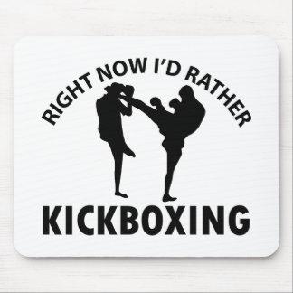 Kick Box design Mouse Pad